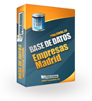 Base de datos Empresas Madrid